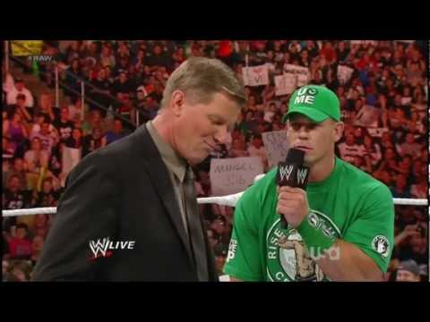 John Cena Makes Fun of John Laurinaitis | RAW 2012/5/14 [HD720]