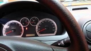 Interior Chevrolet Aveo 2014