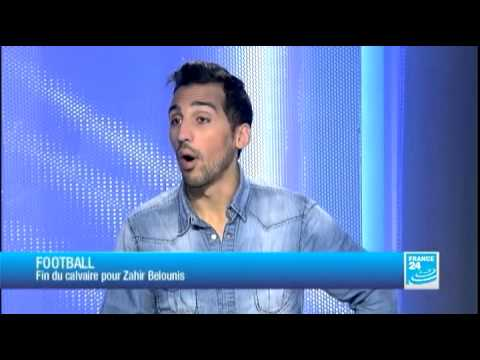 Zahir Belounis sur FRANCE 24 :