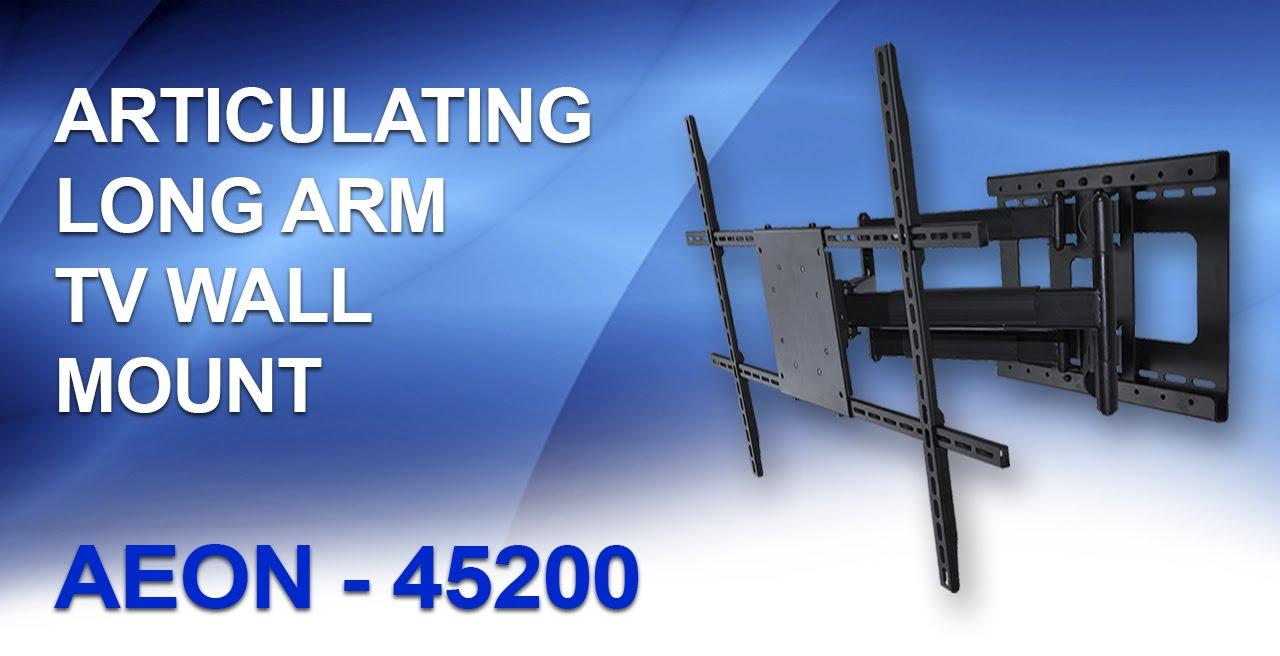Articulating Tv Wall Mount Long Arm Tv Mount Aeon