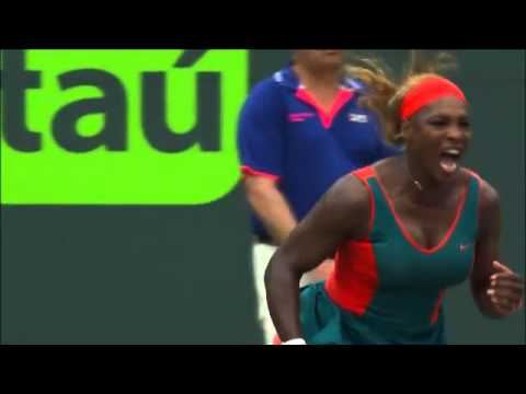 Sony Open Tennis Li vs S Williams Finals Highlights 3-29