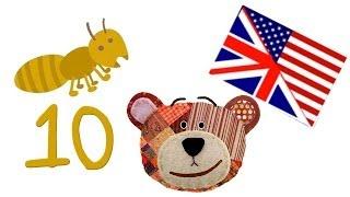 Los Números En Inglés Del 1 Al 10 Para Los Niños
