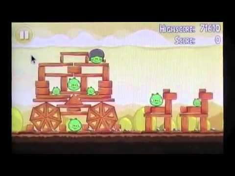 Angry Birds Mighty Hoax Chapter 5 Levels 1-7 3 Star Walkthrough - Redo
