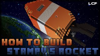 How To Build Stampy's Rocket! Minecraft Tutorial (2/2