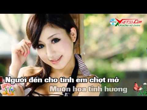 Xuân Yêu Thương KaraOke   Remix DJ   Nhạc Sống   Clip Cực Đẹp