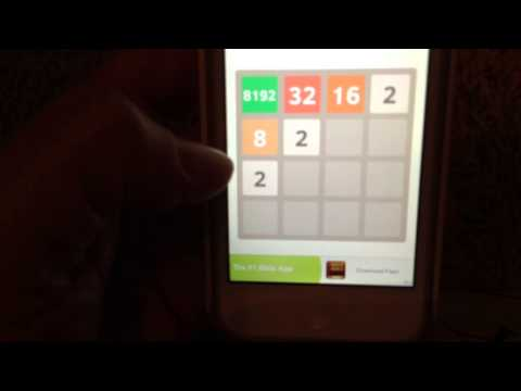 2048 game getting 8192 tile