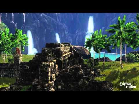 Кусочек мира разрабатываемой MMORPG под рабочим названием MasterMMO.
