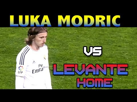 Luka Modric vs Levante HOME ( 09 - 03 - 2014 / 09/03/2014 - 09.03.2014 ) [HD]