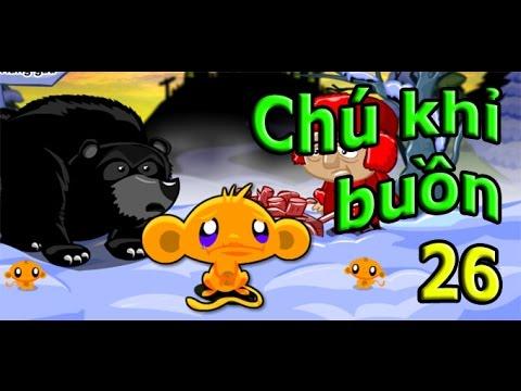 Game chu khi buon 26   Hướng dẫn đáp án game chú khỉ buồn 26
