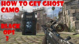 How To Get Call Of Duty GHOST Camo In Black Ops 2 On