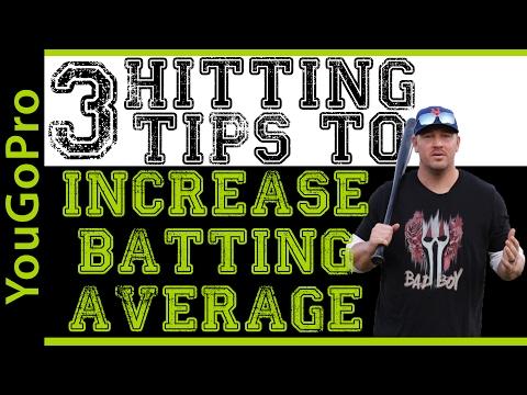 3 Baseball Hitting Tips to Increase Your Batting Average!