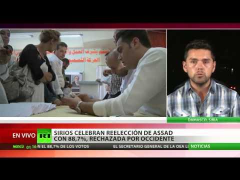 Siria: Bashar al Assad gana las presidenciales con el 88,7% de los votos