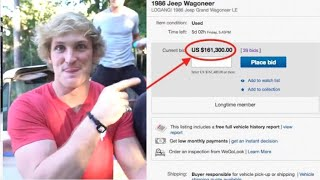 How Logan Paul Made My Car Worth $400,000's in 30 minutes