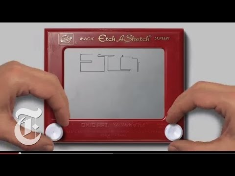 Etch a Sketch Inventor, André Cassagnes: An Illustrated Tribute