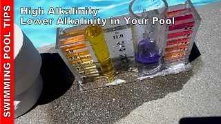 High Alkalinity, Lowering Alkalinity In Your Pool.wmv