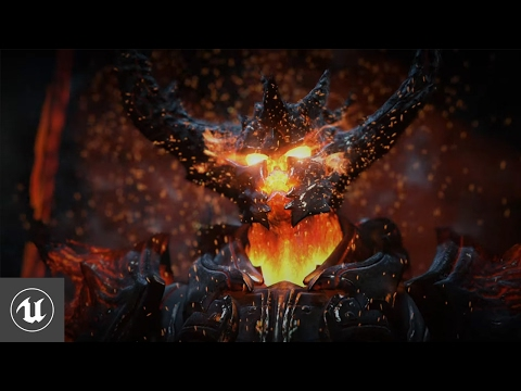 Unreal Engine 4 Elemental Demo