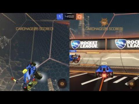 Rocket League random moments skills and fails!
