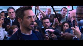 Iron Man 3 Film Clip Tony Stark Threatens The Mandarin