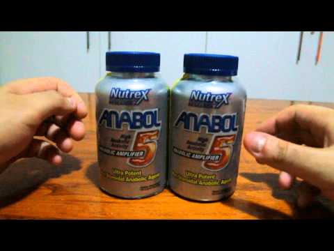 Review Anabol 5 Nutrex Research e relatos.