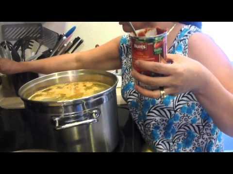 Bun Rieu Cua Recipe - Vietnamese Pork and Crab and Tomato Noodle Soup