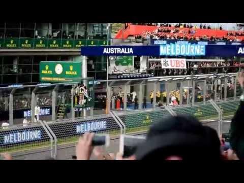 F1 2014 Australian Grand Prix - F1 Final Few Laps