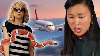 Flight Attendants Review Airplane Scenes From Film And TV