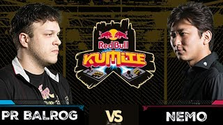 Red Bull Kumite 2017: PR Balrog vs Nemo | Winners Quarter Finals