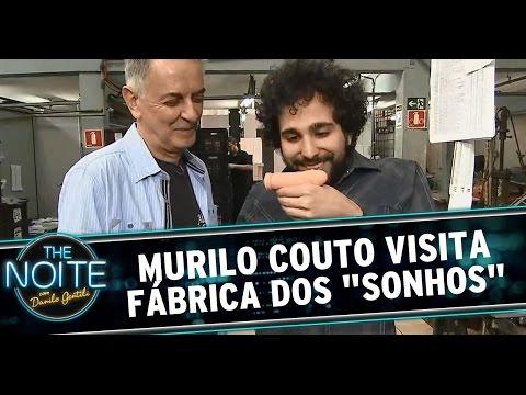 The Noite (18/08/14) - Murilo Couto visita fábrica dos