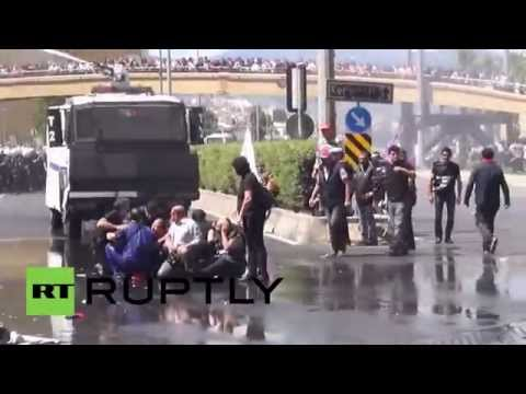 Turkey: Police crack down on protesters over deadly mine explosion