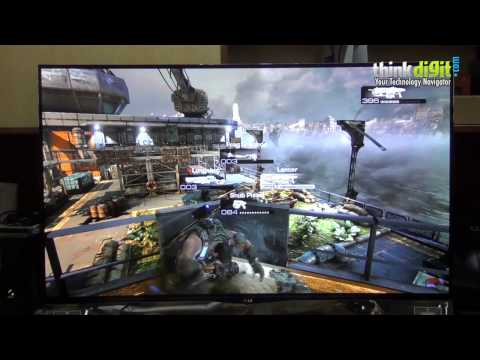 Gears of War 3 Gameplay on LG 55-inch OLED Curved TV(55EA9800)