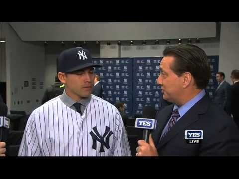 Jacoby Ellsbury excited to play for the New York Yankees