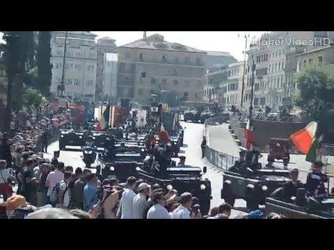 VIDEO HD : PARATA MILITARE DEL 2 GIUGNO 2012 - COMPLETO