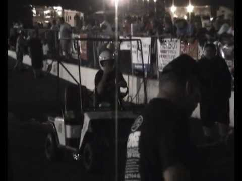 Outlaw golf Car Race ELIMINATIONS   YB NATS 2011.wmv