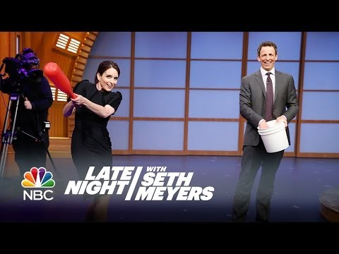 Tina Fey Interview, Pt. 2 - Late Night with Seth Meyers