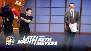 Tina Fey on Women in Late Night, and Baseball