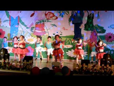 Cùng nhảy lên nào các bạn ơi - Lớp lá - Tổng kết năm 2012-2013