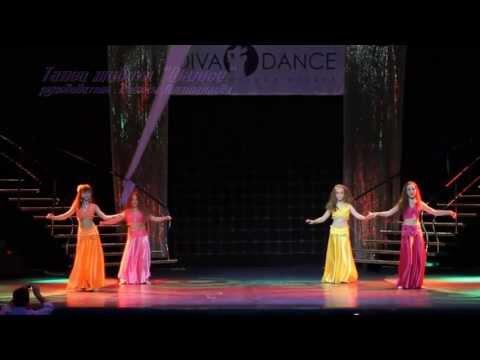 """Видео """"Детский отчетный концерт в Гигант-холле 02.06.2013 года"""". Детский танец живота «Шамси»"""