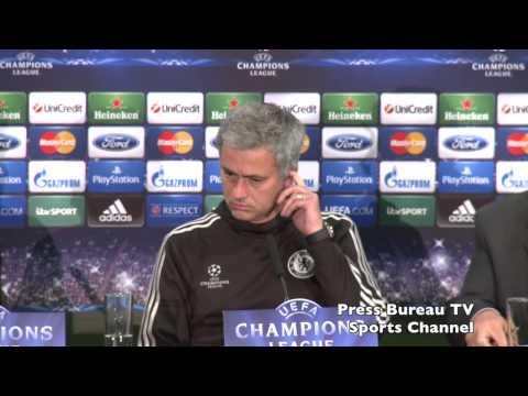 Jose Mourinho pre Chelsea vs Galatasaray