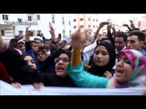 طنجة: تشييع جنازة بائع مجوهرات ضحية جريمة قتل ومسيرة للمطالبة بتوفير الأمن