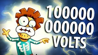 Arnold Was Hit With 1000000 Volts