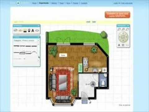 Tutorial Floorplanner Plantas Online Simulador De Ambientes Youtube