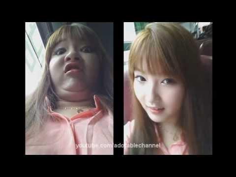 (clip Hot ) Những Cô Gái Hàn Quốc Có Khuôn Mặt Thay Đổi Kinh Ngạc Theo Góc Nhìn