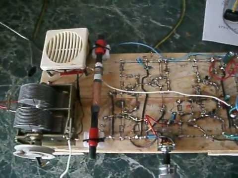 Транзисторный приемник самодельный