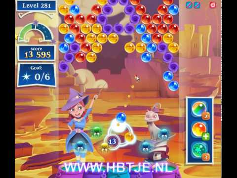 Bubble Witch Saga 2 level 281