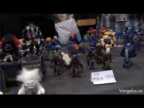 NYCC 2011 - Onell Designs' Glyos System (with Matt Doughty) - Oct 16