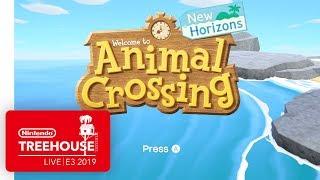 Animal Crossing: New Horizons Gameplay - Nintendo Treehouse: Live   E3 2019