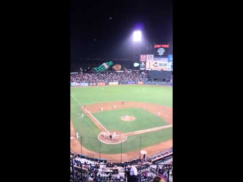 Mets vs Giants walk-off