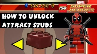 Lego Marvel Super Heroes How To Unlock Attract Studs