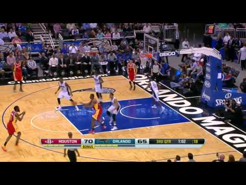 Houston Rockets vs Orlando Magic  March 5, 2014  NBA 2013-14 Season