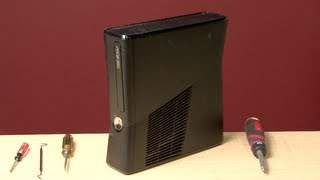 How To Take Apart And Open Xbox 360 Slim